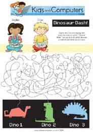 Printable Puzzle Downloadable Kids